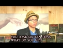 Sixteen TONS Tay Zonday Sings Merle Travis - Tennessee Ernie Ford!