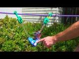 Робот для поиска разрыва в электропроводах (напечатан на 3D принтере)