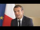 REPLAY Entretien exclusif avec Emmanuel Macron au sommet de la Francophonie 11 10 2018