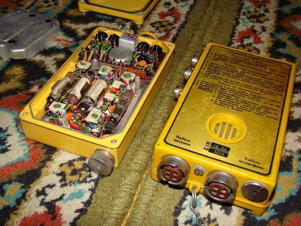 Р-855У на стержневых лампах —