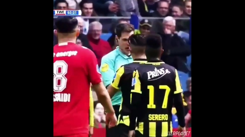 When the Ref get a yellow card .mp4
