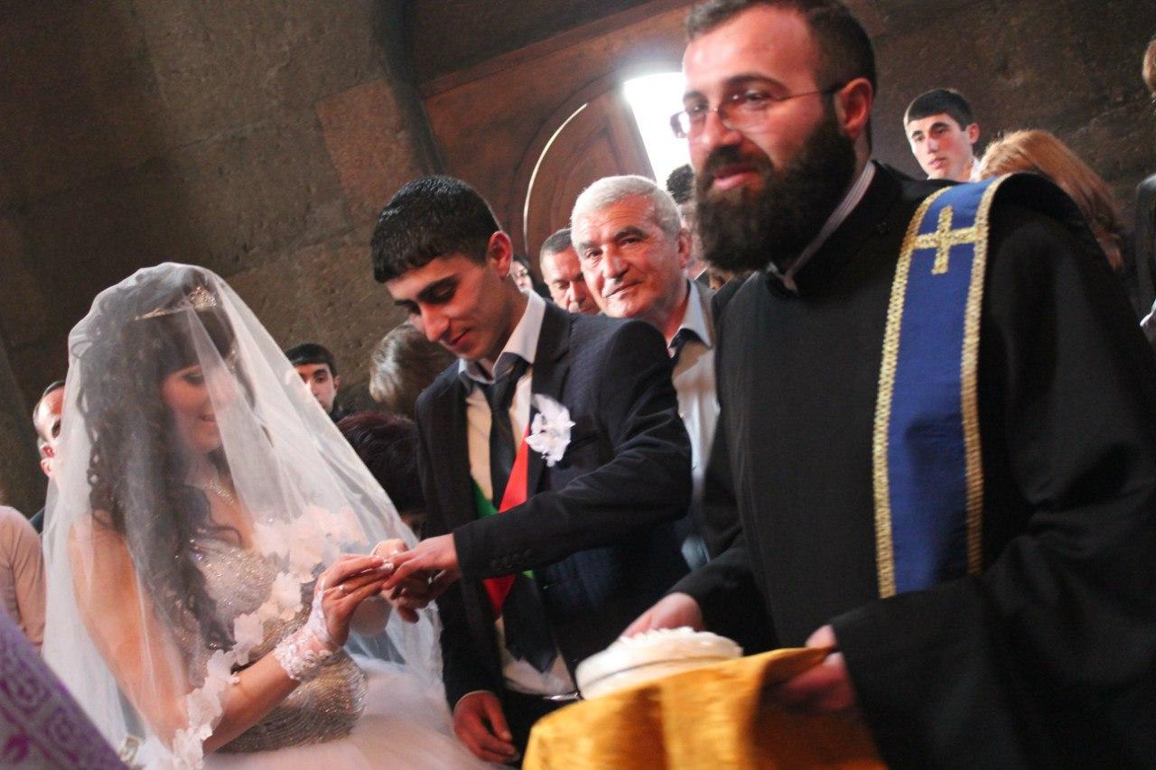армянское венчание