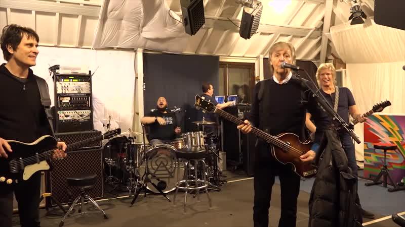 ¡Un saludito exclusivo de Paul McCartney para Argentina!
