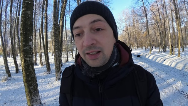 Cammino quindi penso - 2018-10-29 - Prima neve a San Pietroburgo