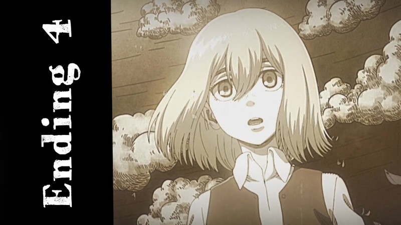 Attack on Titan Ending 4 - Shingeki no Kyojin Season 3 Ending 1『 Akatsuki no chinkonka』