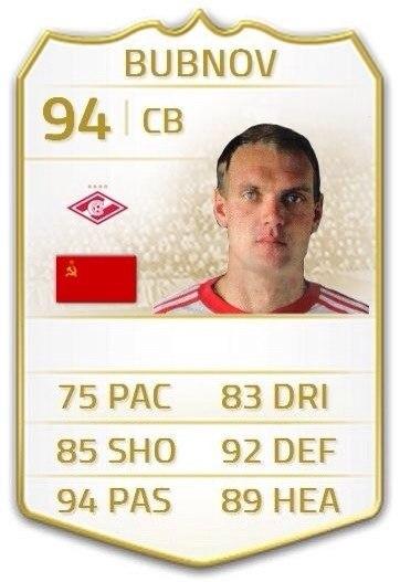 Бубнов играет в FIFA 15