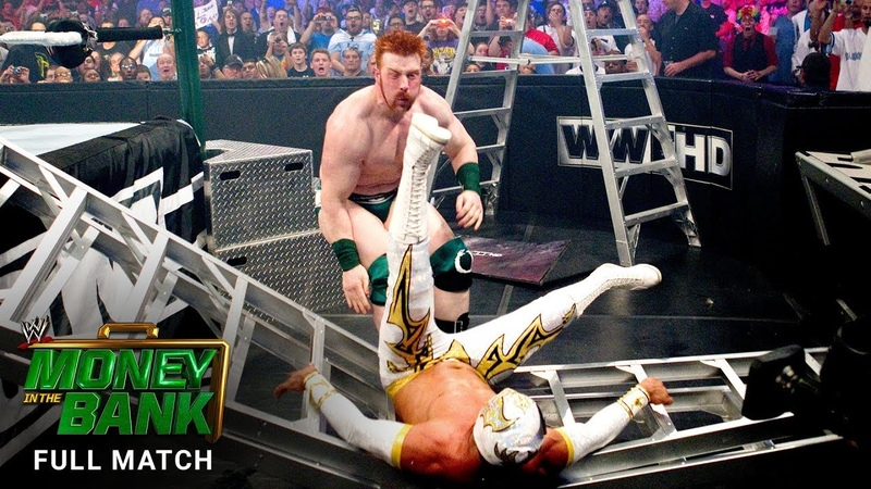 FULL MATCH - Ladder Match for a World Heavyweight Title Match Contract: WWE Money in the Bank 2011