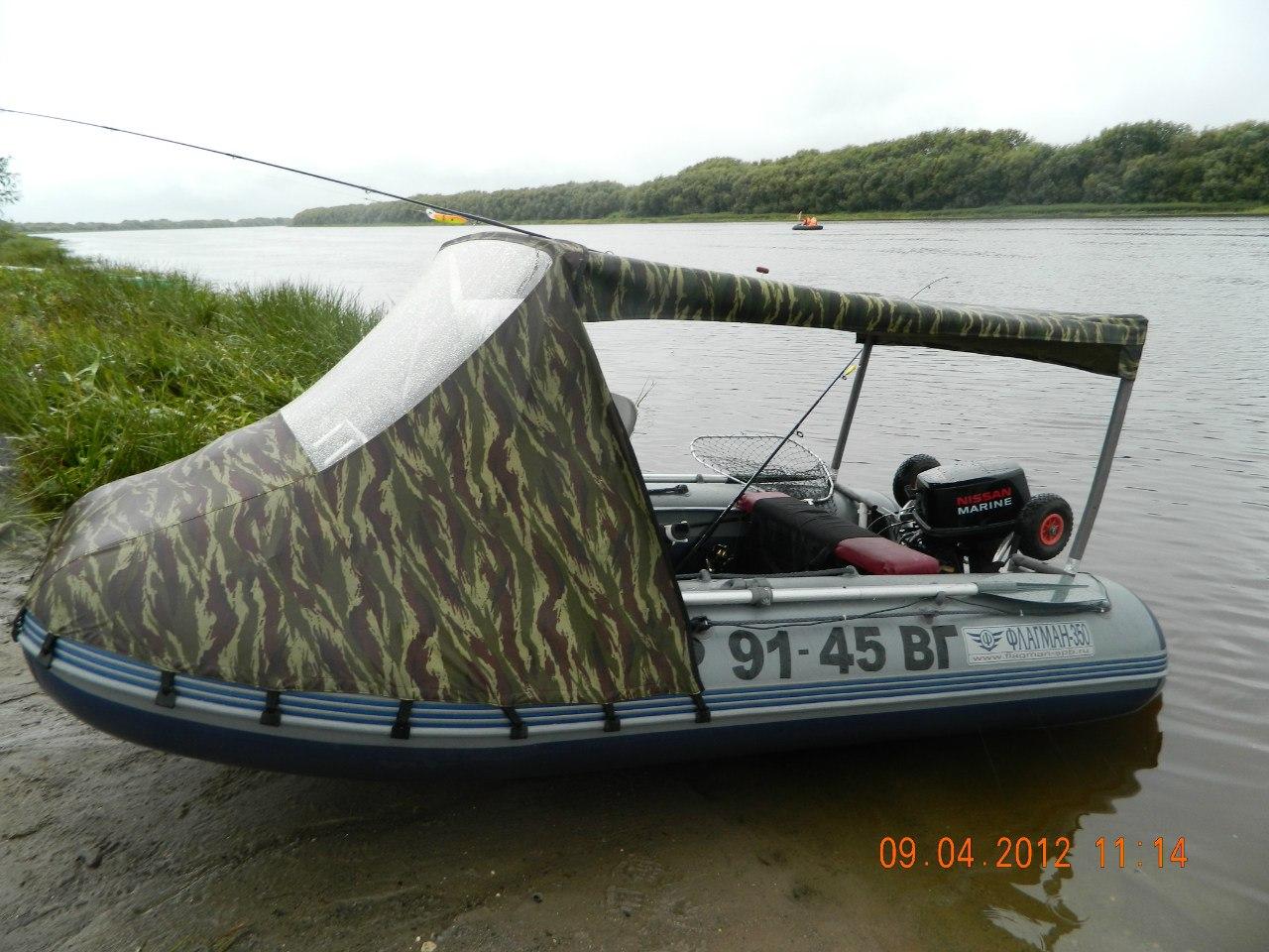 Как улучшить лодку пвх для рыбалки своими руками 70