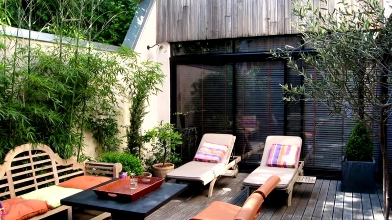 🔴 Landscape Design Backyard ⏩ Relaxation Area In The Garden Part 4