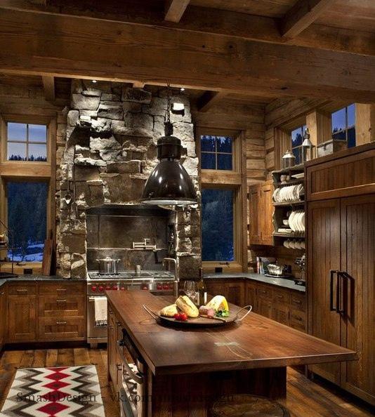 Замечательный дом в горах