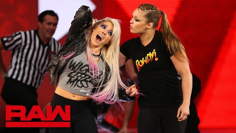 The «Jean»: Ronda Rousey violates suspension to brutalize Alexa Bliss: Raw, July 16, 2018