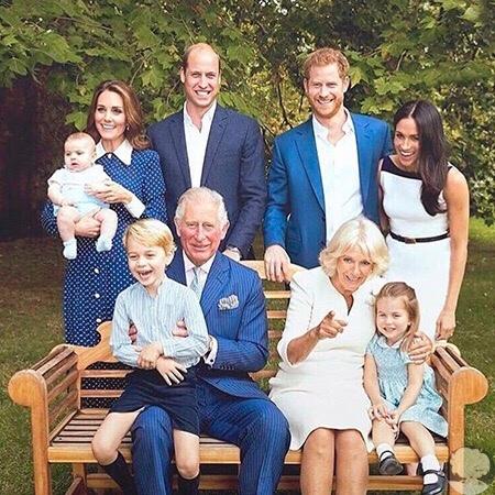 В сеть слили новые фото королевской семьи