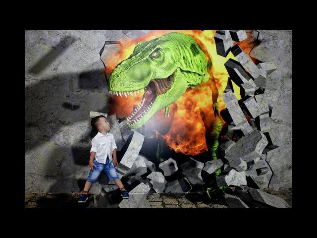 Мир Юрского Периода. Динозавры. Приключения. Индоминус Рекс. Тираннозавр Рэкс.