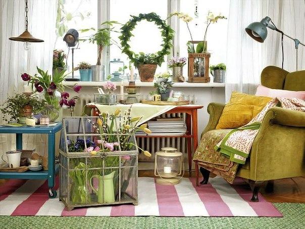 Весенние идеи для комнаты