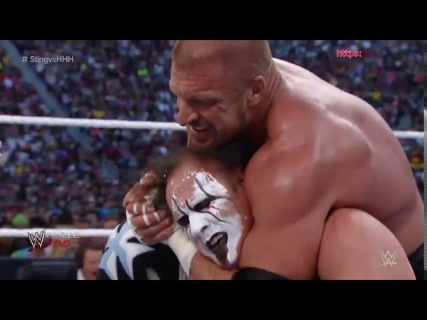 Sting vs Triple H The Undertaker vs Bray Wyatt WWE Wrestlemania 31