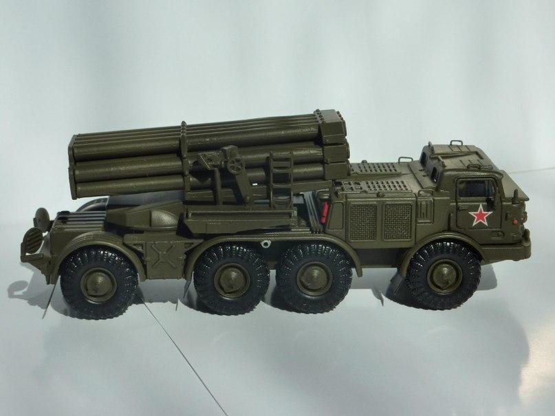 Боевые Машины Мира №2 - РС30 9К57 Ураган (Россия, 2003)