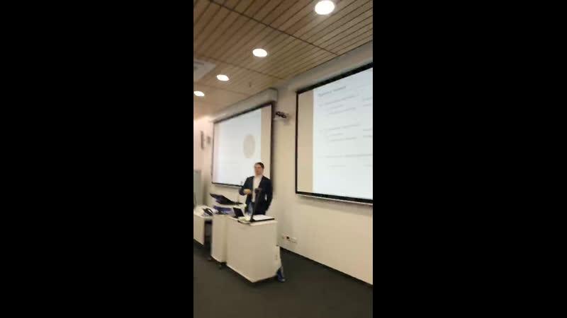 Мастер-класс «Северстали» на конференции «Менеджмент будущего» 2019! Ведущий Кирилл Любимов.