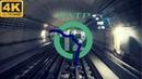 LIGNE 12 MÉTRO PARIS RATP 4K