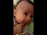 мишутка с мамой разговаривает