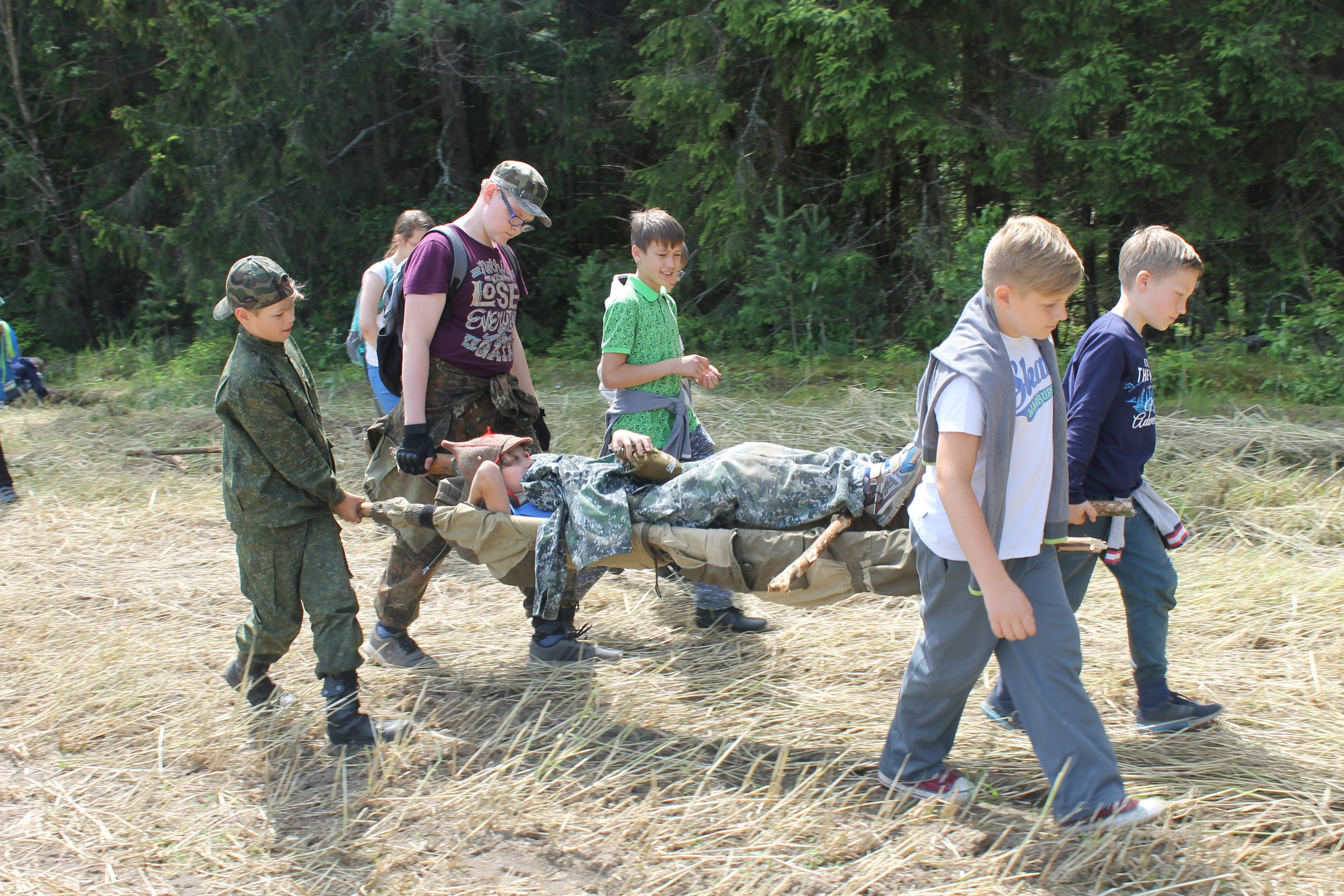 """Детский лагерь с программой по выживанию """"На100ящий воин"""" всего от 600 руб."""