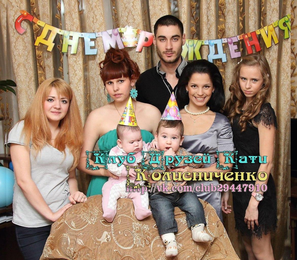 Тигран Кеосаян и его новая жена, дети (фото)