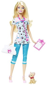 барби доктор кукла