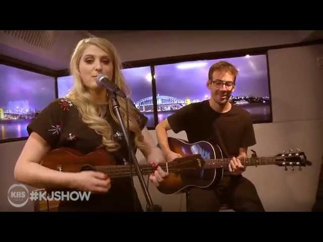 Meghan Trainor - All About That Bass (Live Acoustic)