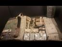 1944 USN M-592 Pilot Survival Kit Navy Ration MRE Taste Test Vintage Gadgets Fishing Kit in a Can