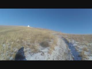 ступа-тупа без бабы Яги на островке Огой, Малое море, Байкал