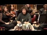 Zakir Hussain Peshkar, concerto for tabla and orchestra Symphony Orchestra of India