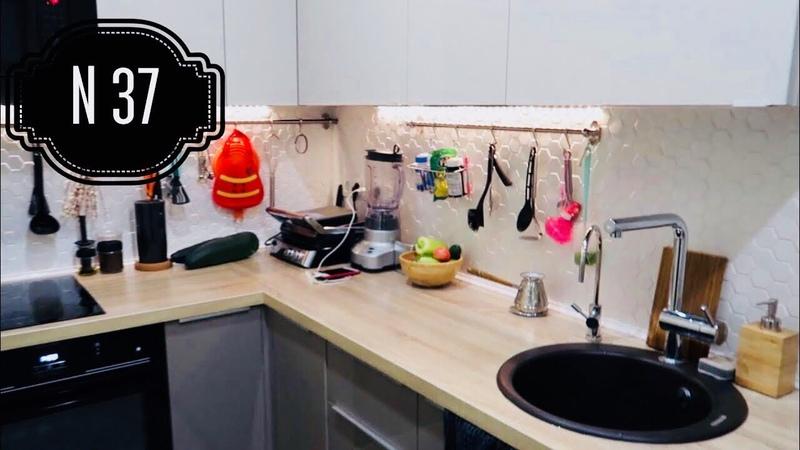 Кухня В КОРИДОРЕ Кухня в однушке Дизайн интерьера однокомнатной квартиры РумТур 37