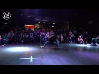 Freestyle battle 1x1 // I Love This Dance // Дубинин Илья VS Старостина Алина