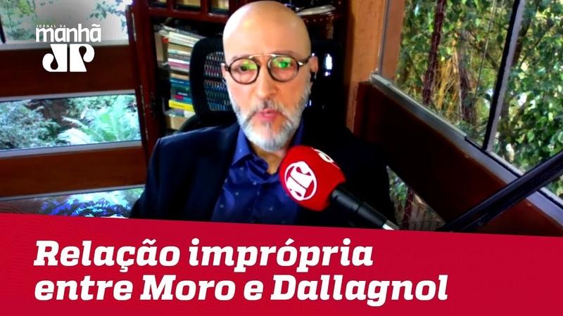 Josias de Souza: Vazamento de mensagens revela relacionamento impróprio entre Moro e Dallagnol