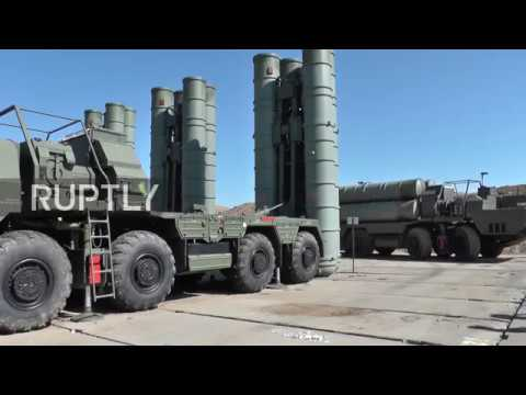 Зенитно-ракетные дивизии С-400 развернуты в Крыму