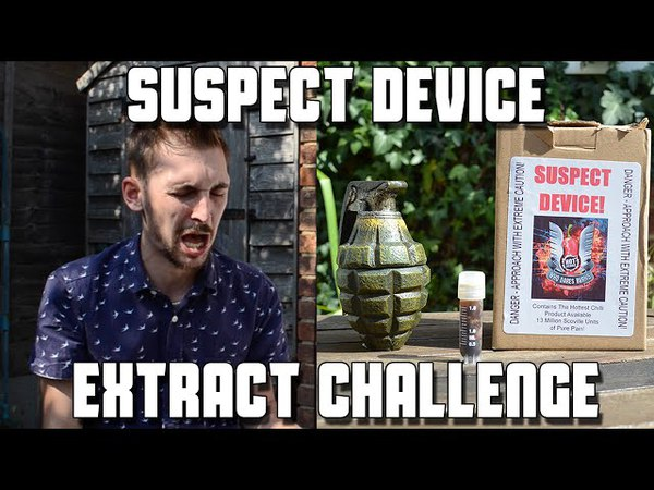 Suspect Device Extract Challenge (13 Million Scoville Units) *Vomit Alert* | WheresMyChallenge