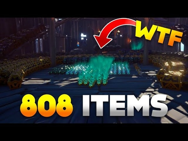 Epic Haul in Sea of Thieves - 800 Items and 20 Athenas Chests | SoT Best, Funny WTF Moments Ep. 93