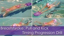 Breaststroke Timing Progression Drill in 5 Easy Steps!