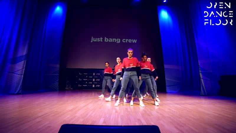 OPEN DANCE FLOOR   just bang crew   BEST DANCE SHOW BEGINNERS