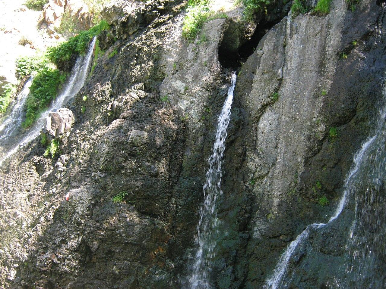 Водопад Шекинский (Шакинснкий)