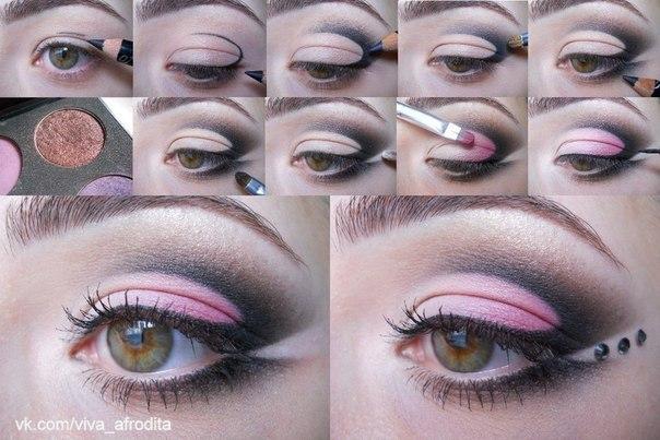 Вечерний макияж для для девушек