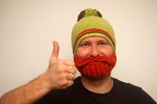 Ярмарке Мастеров. шапка с бородой. шапка с бородой отличное дополнение образа и защита от морозов.