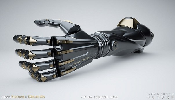 Open Bionics разрабатывает протезы в стиле Deus Ex.
