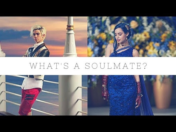 Evie and Carlos ✘ what's a soulmate?