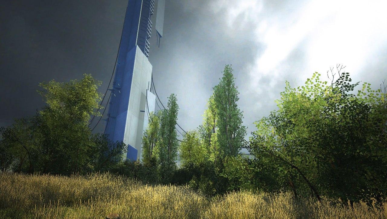 Abadoned Peaceful Half Life 2 Citadel Wallpaper Garry S Mod