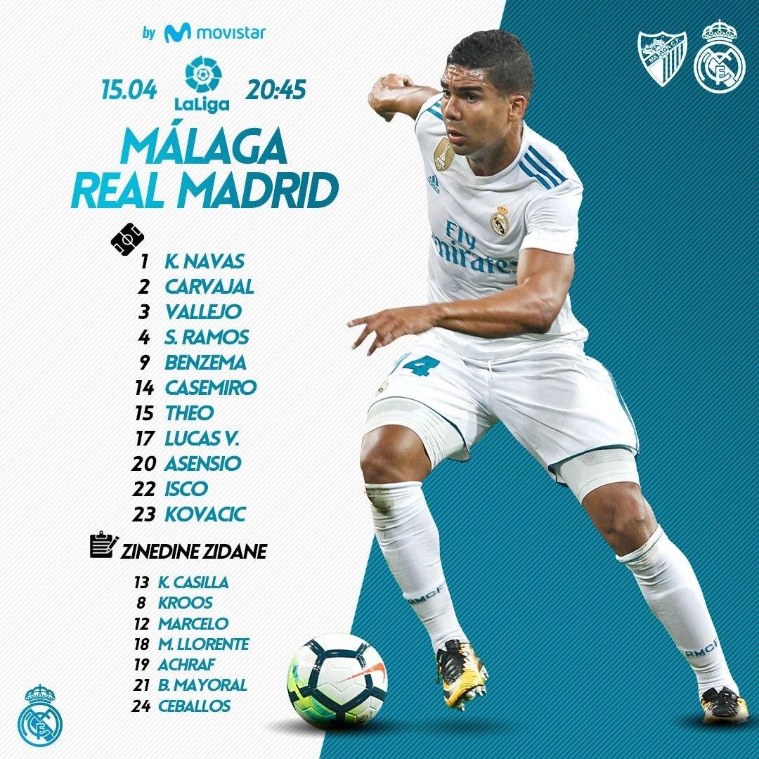 """La Liga. """"Malaga"""" - """"Real Madrid"""" 1:2"""