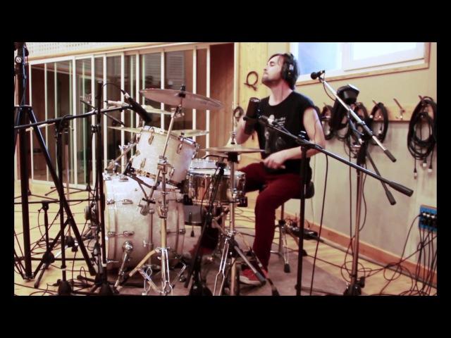 Drum Tracking for Poljana Rock band in Dobrolet Studio