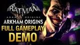 Batman Arkham Origins - Full Gameplay Demo Walkthrough E3 2013