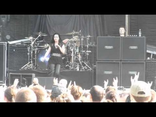 Evanescence - What you want, Going under, The other side - Live @ Bucharest Tuborg Greenfest 2012