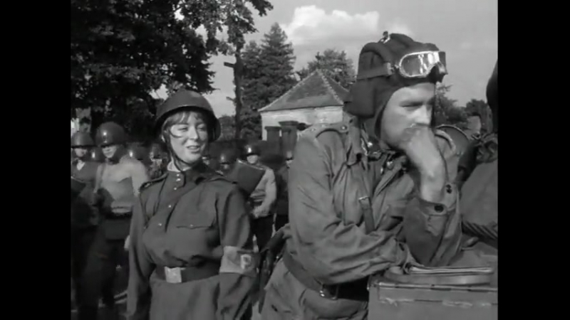 Четыре танкиста и собака - 2 серия. Польша. Х/ф. Военный.