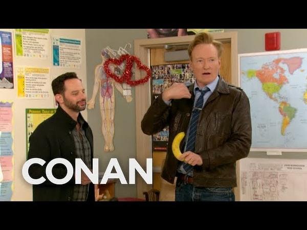 Conan Nick Kroll Teach A Sex Ed Class